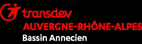 Bas de page - Logo de Transdev Annecy