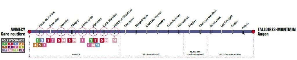 Ligne 60 Annecy Talloires